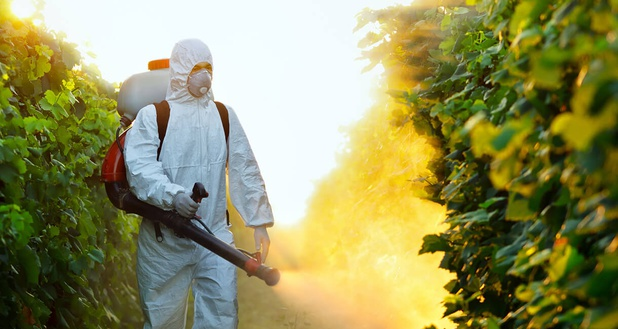 arrosage de pesticides