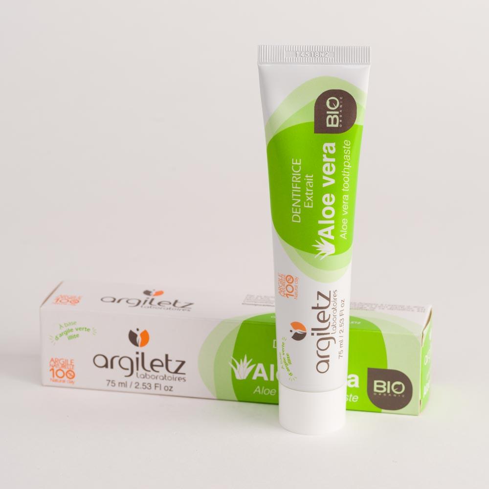 Dentifrice à l'Argile à l'Aloe Vera bio
