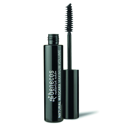 [BE008] Natural Mascara Maximum Volume deep black