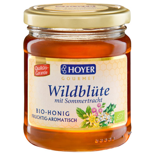 [HY005] Wild Flowers Honey (liquid) - organic