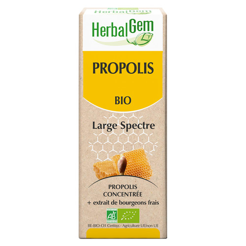 [HE102] Enriched Propolis (Broad Spectrum) - organic