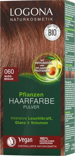 [LG086] Herbal Hair Colour - 060 Walnut brown