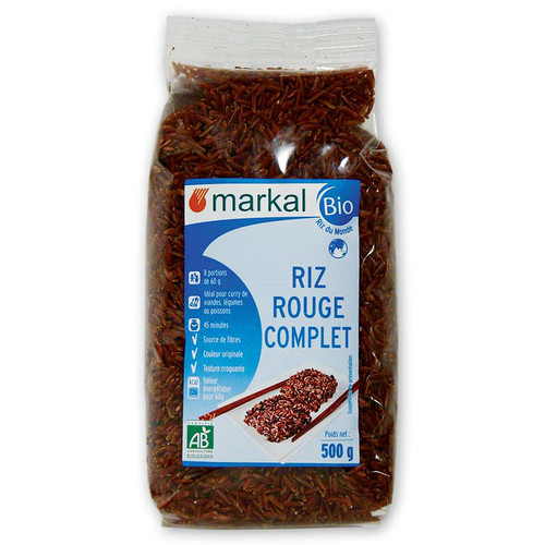 [MK137] Red Rice, whole - organic