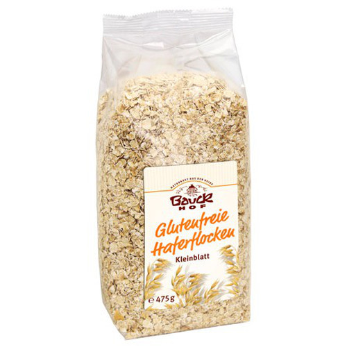 [BH006] Oats flakes (unroasted, small, without gluten) - organic