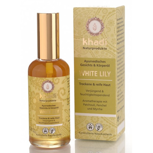 [KH033] White Lily ayurvedic face and body oil