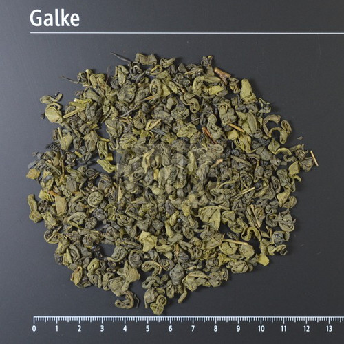 [SP053] Gunpowder green tea, leaf - organic