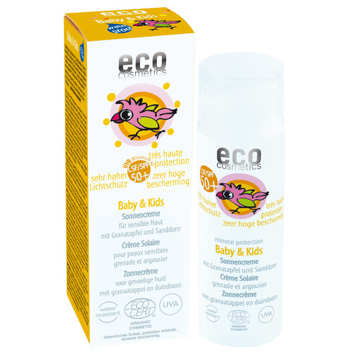 [EO002] Crème solaire LSF/SPF 50+ Baby & Kids - bio