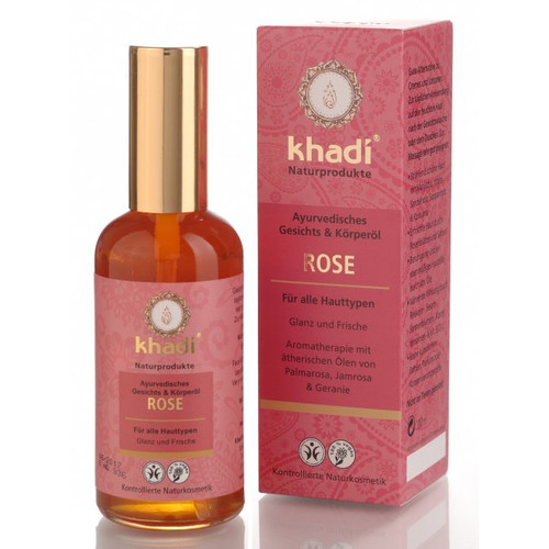 [KH038] Rose ayurvedic face and body oil