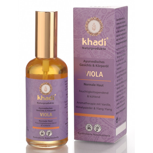 [KH039] Viola ayurvedic face and body oil
