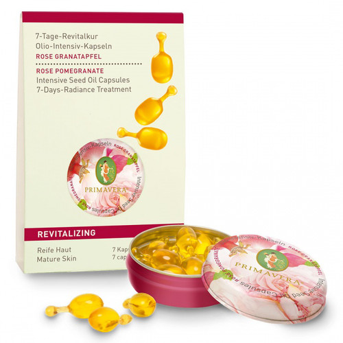 [PR011] Intensive seed oil capsules - Rose pomegranate