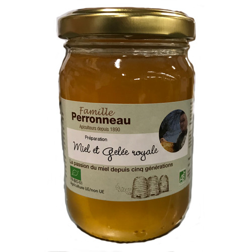 [FP001] Honey with 10g royal jelly - organic