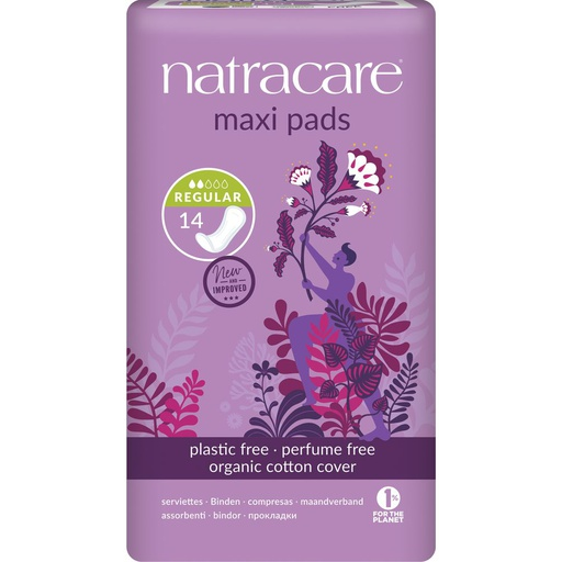 [NA010] Serviette hygiénique maxi - normale (Regular)