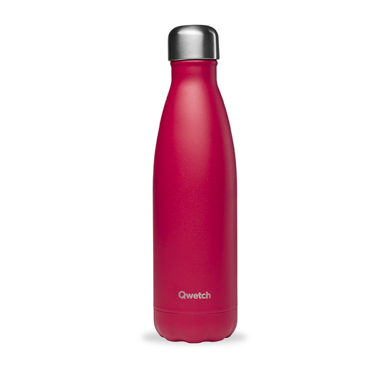 [QW002] Bouteille isotherme - Matt Framboise - 500 ml