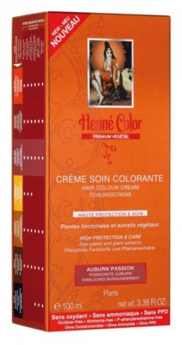 [NJ028] Henné Color Premium Auburn Insolent - Crème colorante