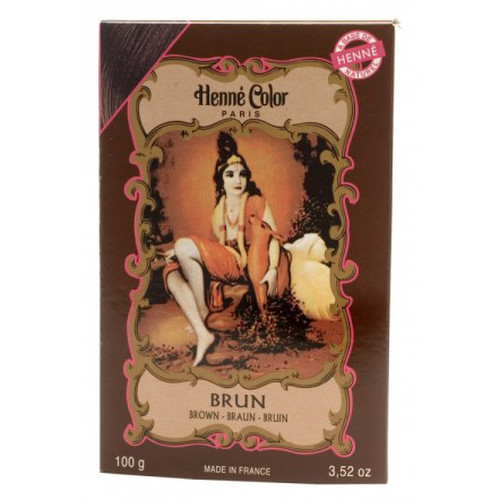 [NJ001] Henna powder Dark Brown (Henne Color)