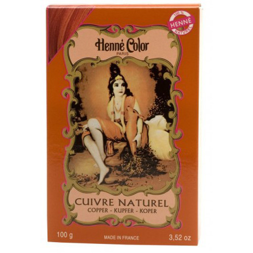 [NJ002] Henna powder Copper (Henne Color)