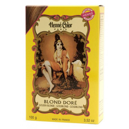 [NJ004] Henna powder Golden Blonde (Henne Color)