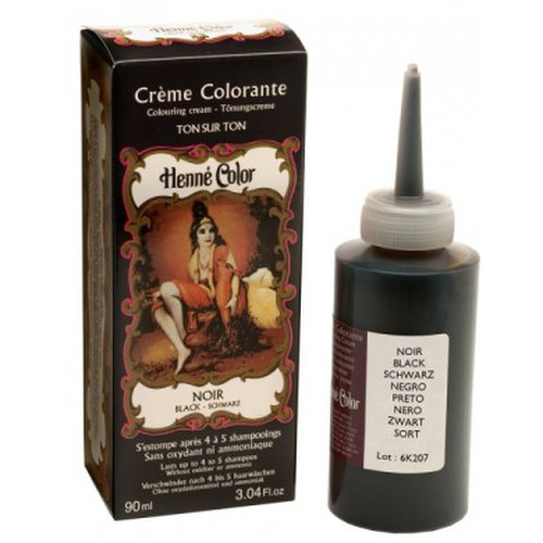 [NJ015] Colouring cream Black (Henna Color)